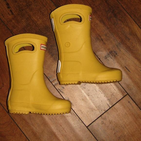 8e2716a2804 HUNTER FOR TARGET RAIN BOOTS YELLOW KIDS SZ 5